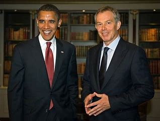 Image result for blairs and the obamas images