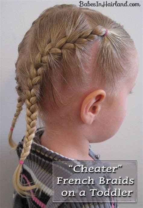 toddler french braids baby girl hairstyles little girl