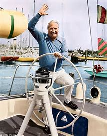 Image result for ted heath yacht images