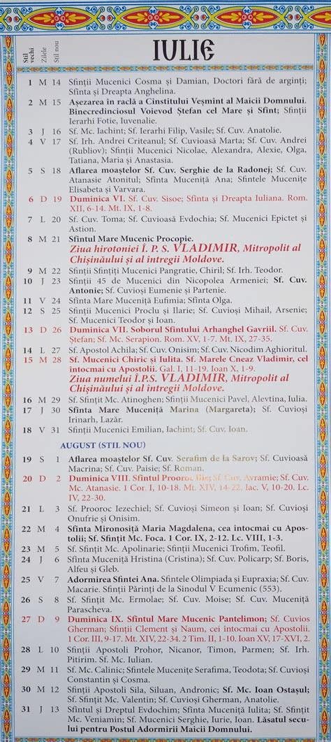 Calendar Ortodox 2022.Calendar Ortodox Moldova Calendar Crestin Ortodox 2021 Moldova Printable March Calendar Crestin Ortodox Stil Vechi 2021