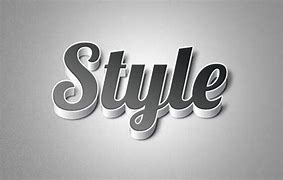 Image result for the word 'style' in stylish font