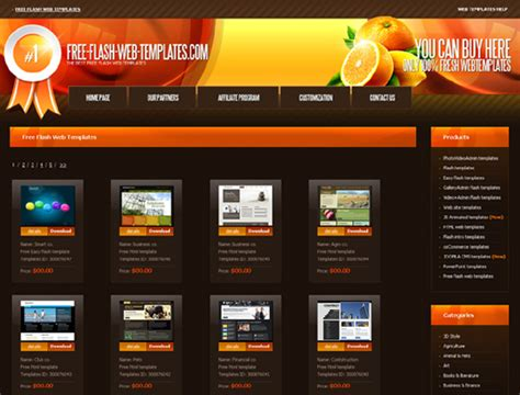 places to download free website templates and free