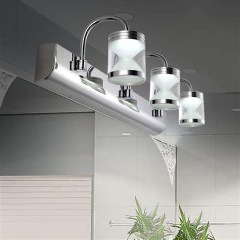 modern w led acrylic bathroom front mirror lights