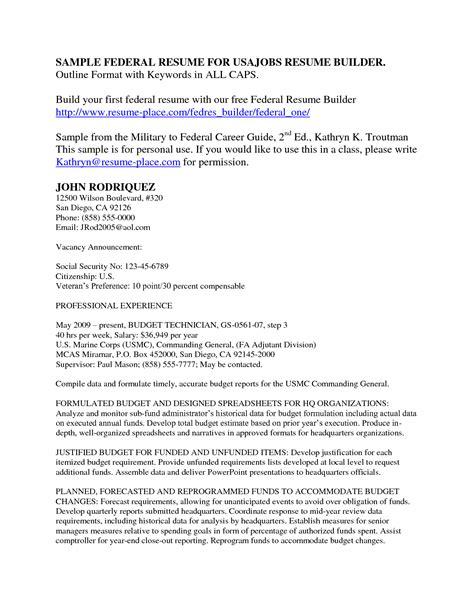 usajobs online resume builder http www jobresume