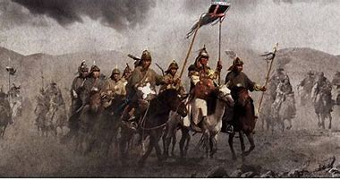Image result for images genghis khan's marauding armies