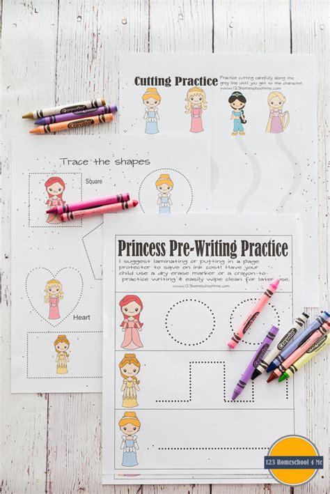 free princess worksheets preschool kindergarten st grade