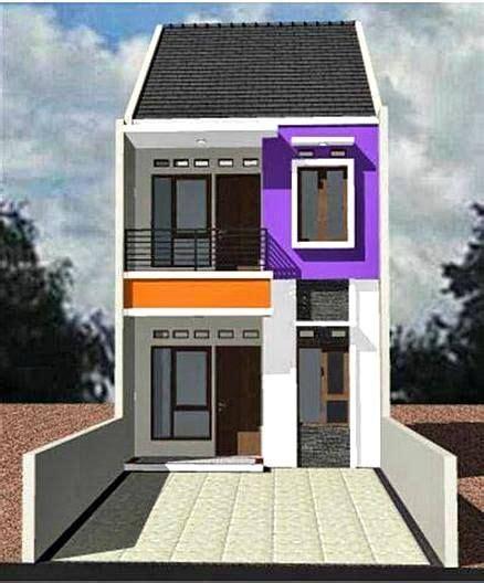 model rumah minimalis lantai sederhana kecil di