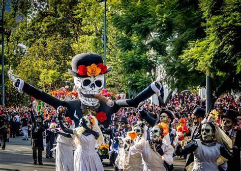 Festas Mexicanas Dia dos mortosVer a imagem de origem