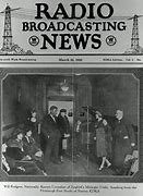 Image result for first news program to be broadcast on radio was aired. The station was 8MK in Detroit, MI.