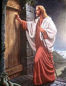 Image result for Jesus Knocking On Door