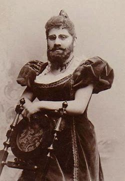 Image result for images side show freaks bearded lady