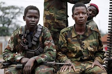 Image result for images young african rebel soldiers