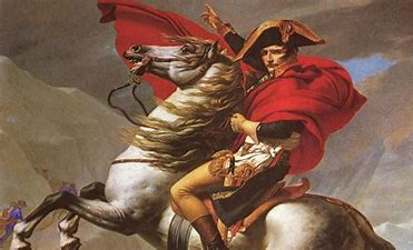 Image result for images napoleon by david