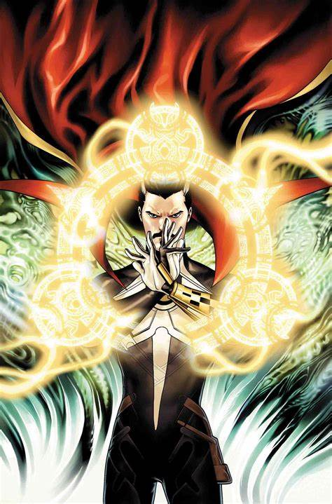 7. Sir Stephen Strange. Existing in the seventeenth century, he has skills and abilities comparable to the contemporary version. Later in his life, he got an insight into the pending doom on reality. He used this knowledge to save the world but lost his life. He was killed on the account of treason.