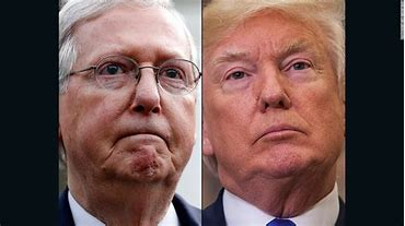 Image result for trump mcconnell relationship