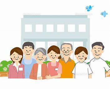 介護施設 イラスト に対する画像結果