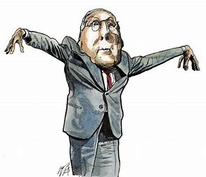 Image result for mitch mcconnell caricature