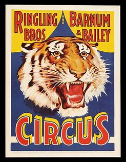 Image result for images barnum bailey circus poster