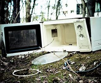 Image result for busted microwave