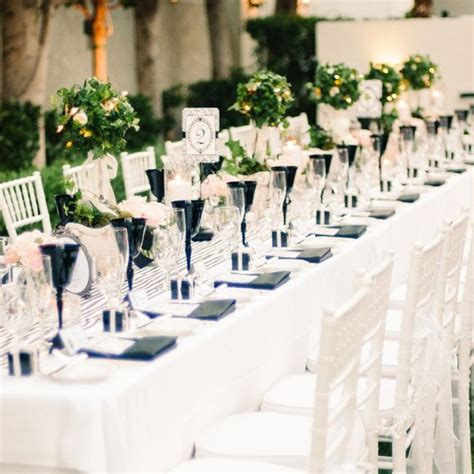 best stripe wedding decor ideas images on pinterest