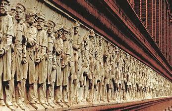 Image result for images pension building civil war frieze