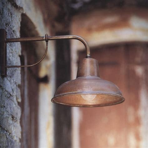 traditional italian wall light contrada or terra lumi