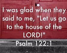 Image result for Psalm 122:1