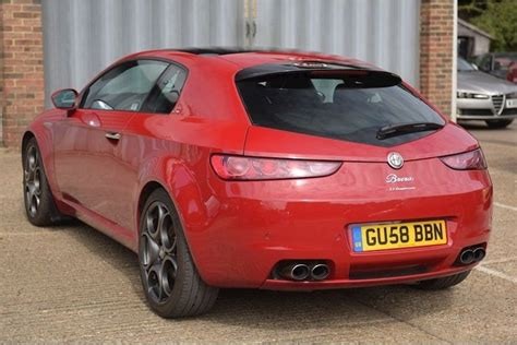HERE S AN ALFA ROMEO BRERA S WITH A BHP SUPERCHARGED V