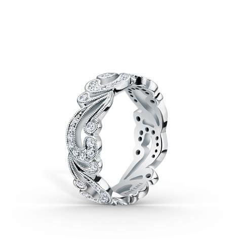 designer diamond wedding anniversary bands for women