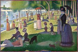 Image result for georges seurat a sunday on la grande jatte