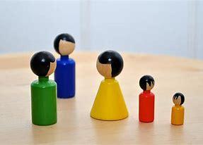 Bildergebnis für Familienstellen Holzfiguren
