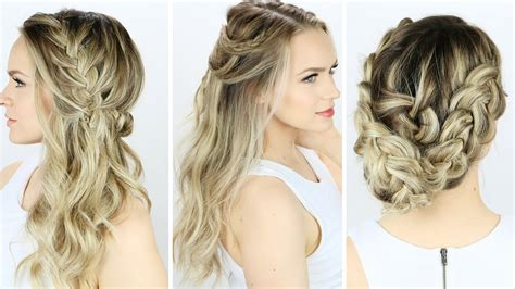 PROM OR WEDDING HAIRSTYLES YOU CAN DO YOURSELF YOUTUBE