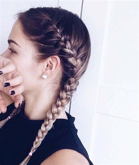 two french braids hairstyles to double your style