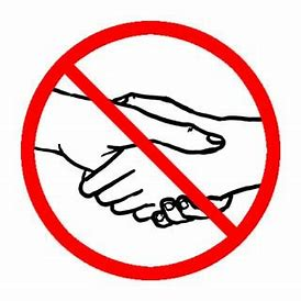 Image result for handshake free zone
