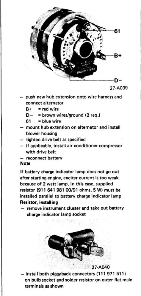 help needed with new alternator valeo wiring hookup