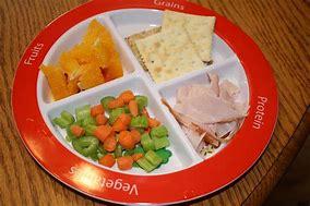 Image result for palte of food kids