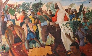 Image result for African American Jesus Palm Sunday