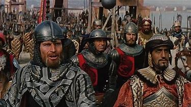 Image result for images of battle in el cid movie