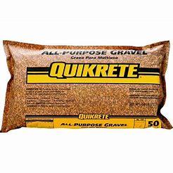 Image result for quikrete gravel bag