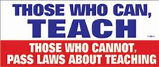 Image result for those who cann teach