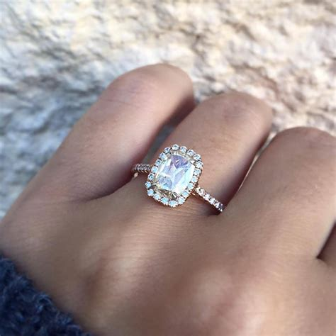 top cushion cut engagement rings of raymond lee