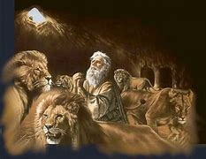Image result for free pic of daniel in lions den