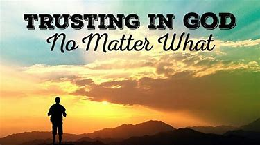 Image result for trust in God