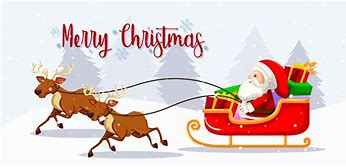 Image result for santa on sleigh
