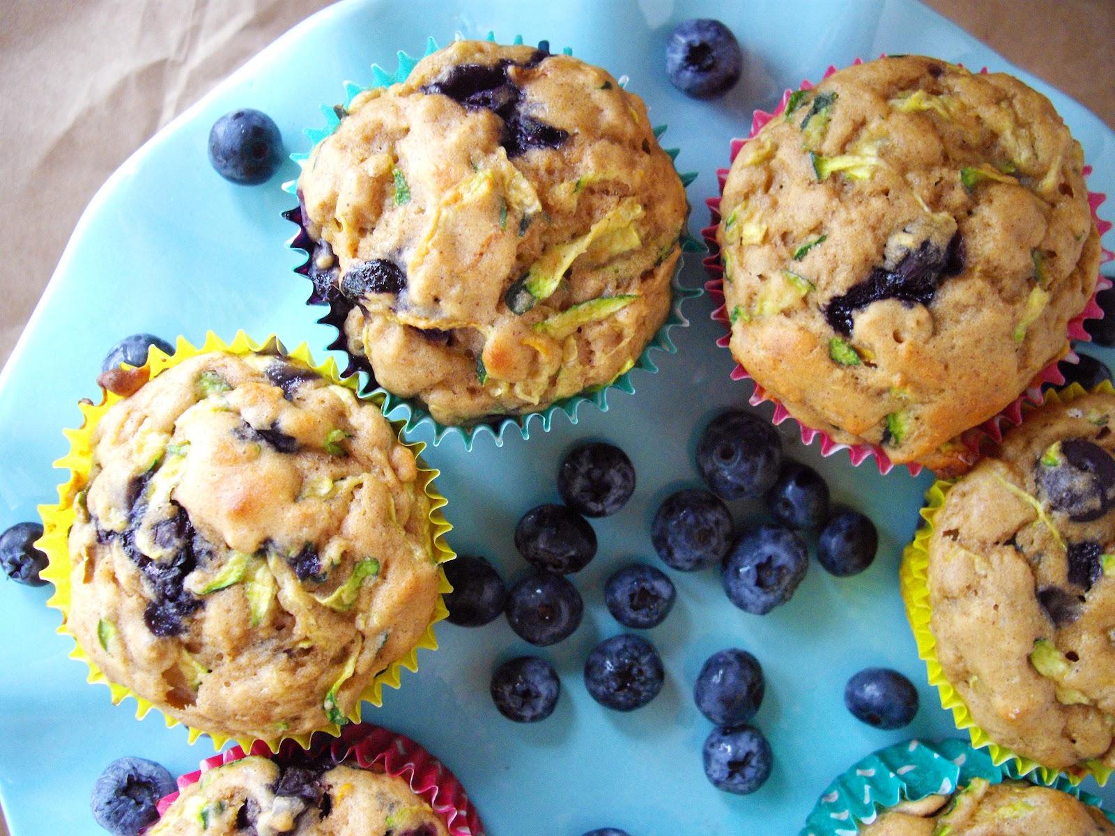 vizualizes end product of CBD berry zucchine muffin recipe