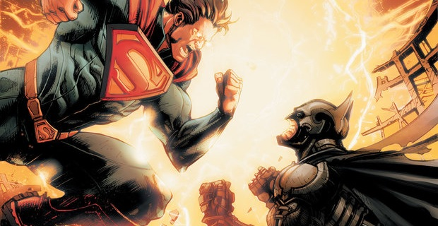 Batman and Superman have fought each other countless times.