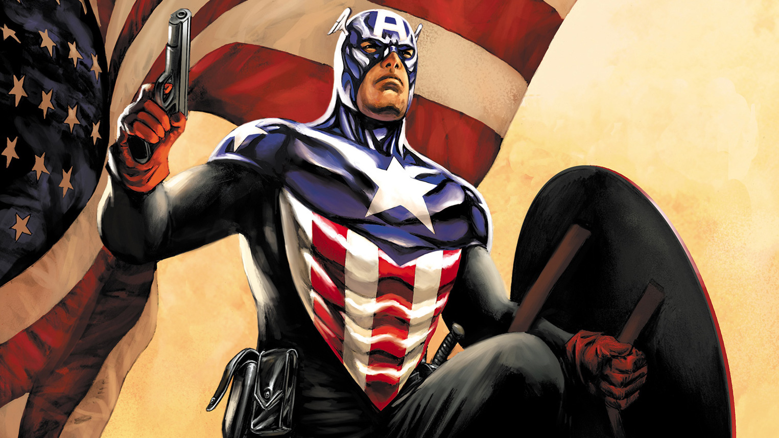 3. When Bucky became the new Cap, he did an amazing job. But he never seemed happy to take up this position. As soon as Rogers returned, he tried to retire immediately.