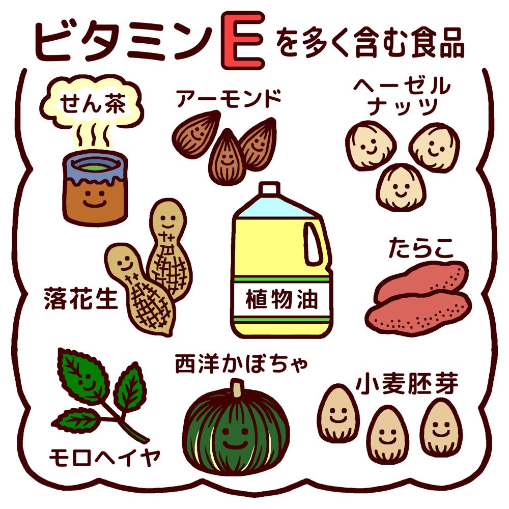 ビタミンE食材