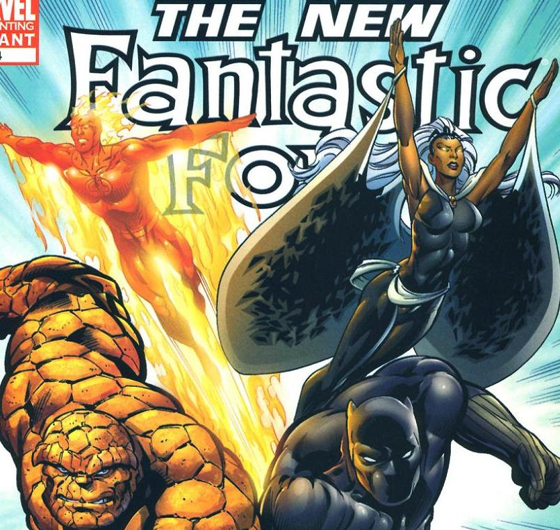 THEY WERE IN THE FANTASTIC FOUR