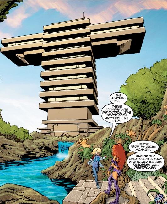 Titans Tower base